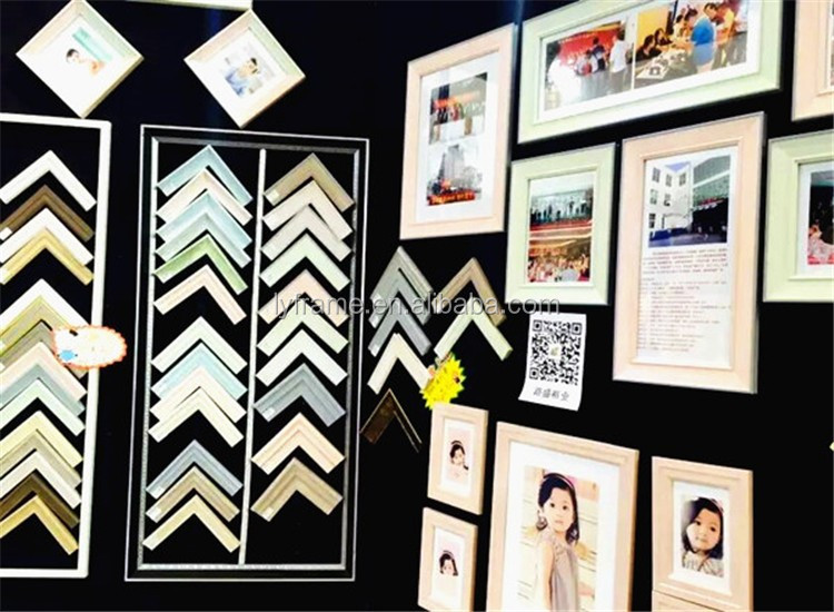 Beautiful and top quality PS frame moldings for photo