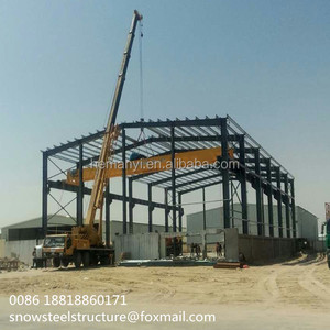 Customize Prefabricated Galvanized Steel Structure