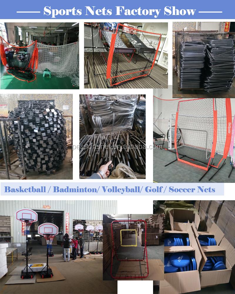 Factory Wholesale 7*4 FT Portable Baseball Practice Net Backtop Barrier Softball Protection Net
