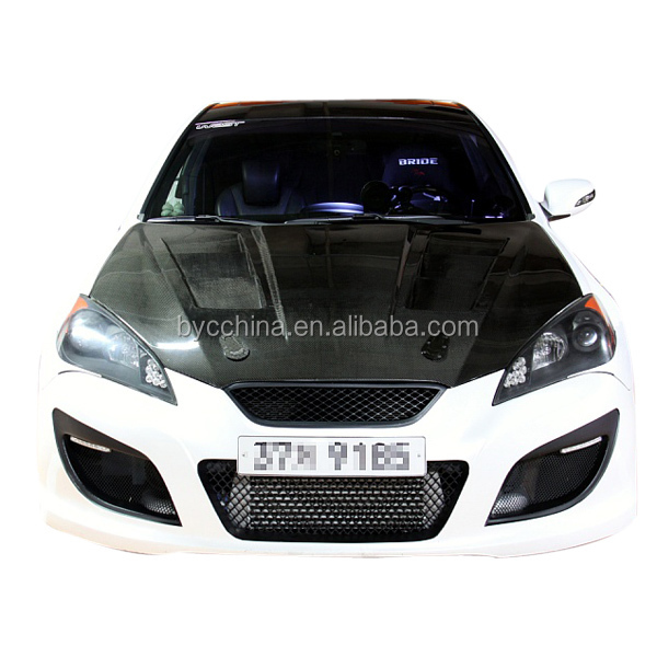Carbon Fiber Vented Hood For Hyundai Genesis Coupe 2010 Taiwan ...