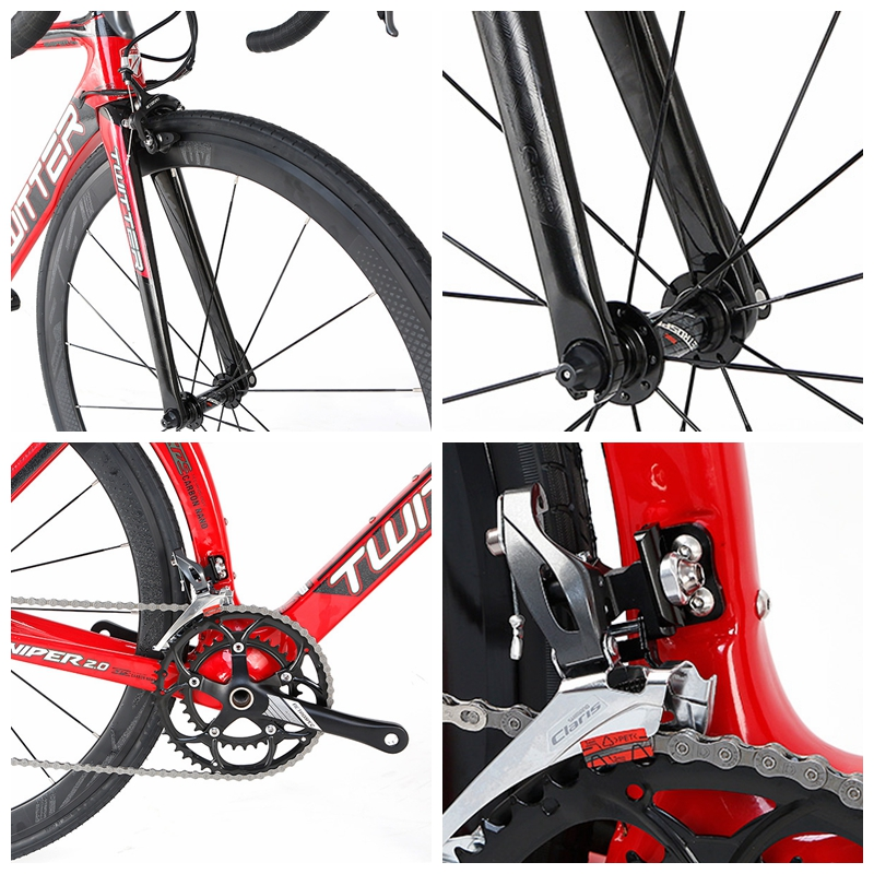 High Quality Carbon T800 Road Bike Frame 700c Road Racing Bike Bicycle for Adult