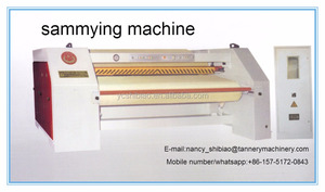 3200MM sammying machine for cow,pig hides,big sizes/leather processing machine
