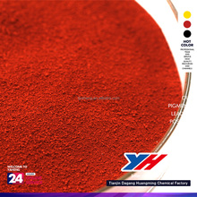Inorganic Pigment Style and Iron Oxide Type rubber red paint