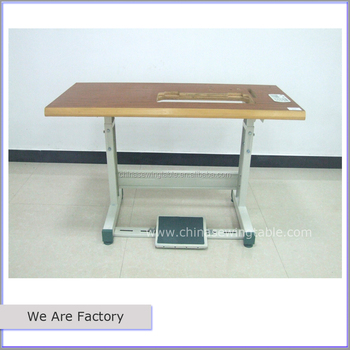 Sewing Machine Table Stand Industrial Brown JUKI 8700 8500 5550