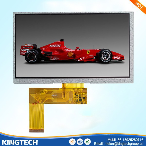 7.0 inch car rearview tft lcd monitor 12 months