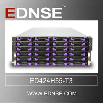 ED424H55 4u 24 bays 19 inch rack mount chassis computer case