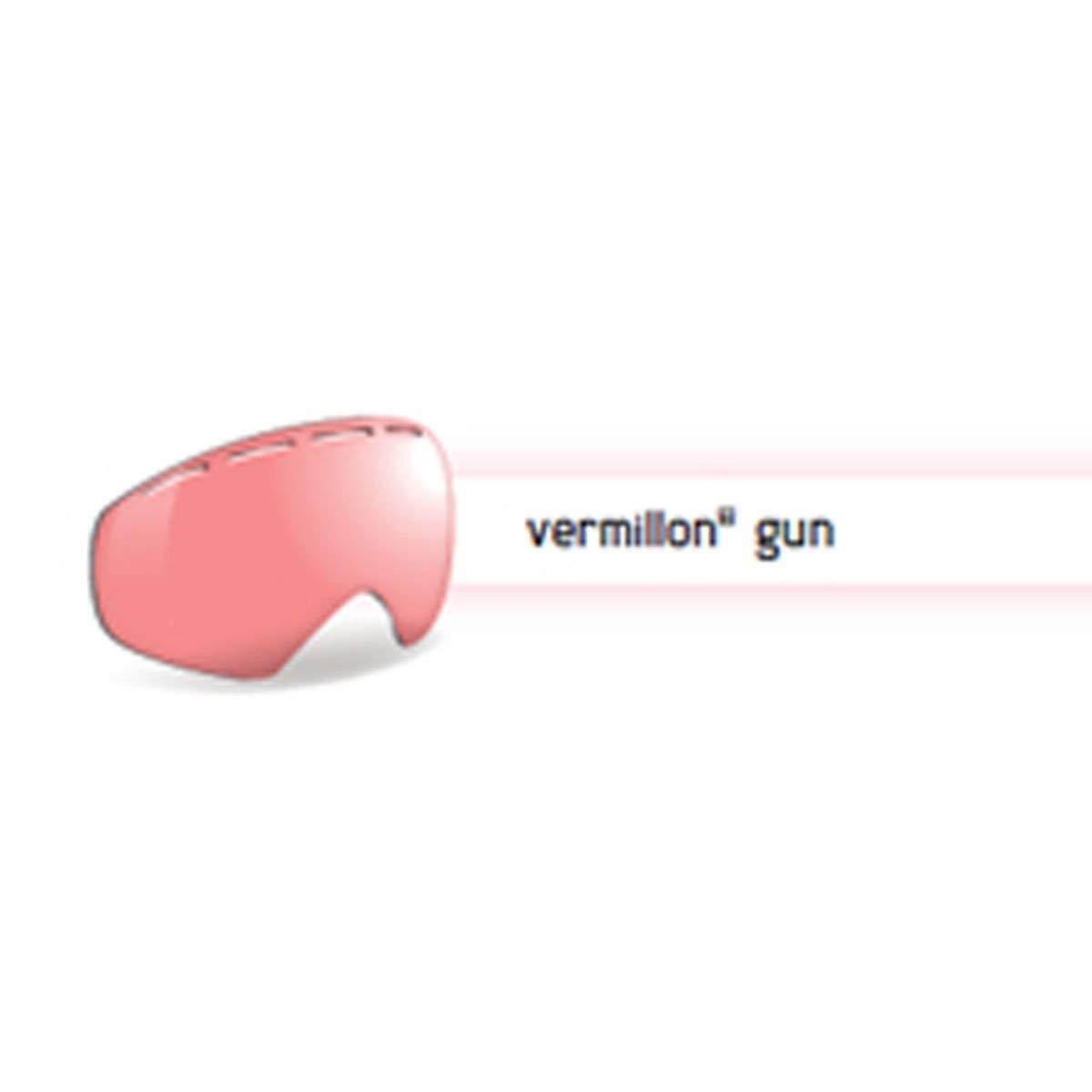 6c33f5ed4486 Get Quotations · Bolle 50571 Replacement Lenses Nova II Sunglasses,  Vermillon Gun