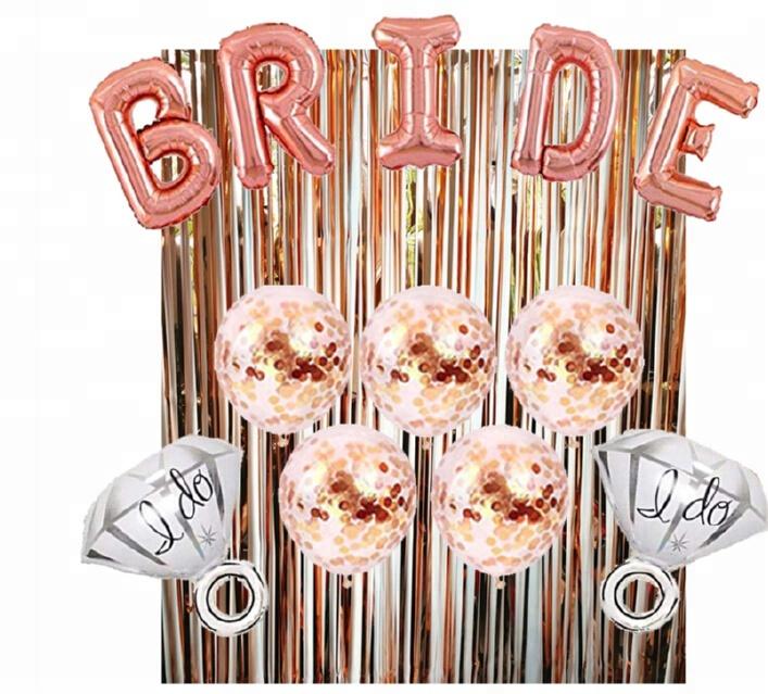 Rose Gold Happy Birthday ฟอยล์จำนวนบอลลูนวันเกิดสาว SASH เค้ก Topper PARTY วันเกิดตกแต่ง