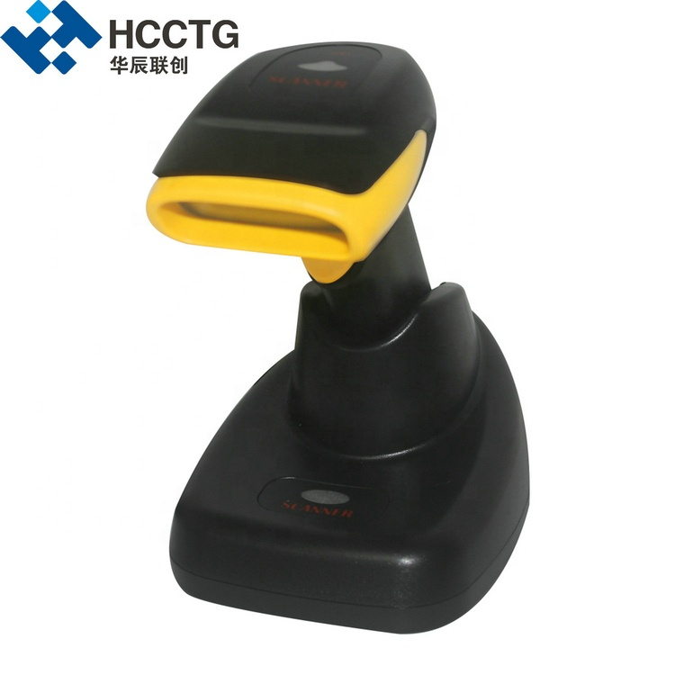 Infrared Charging CMOS Laser 2D QR Code Reader With Base HS-6412