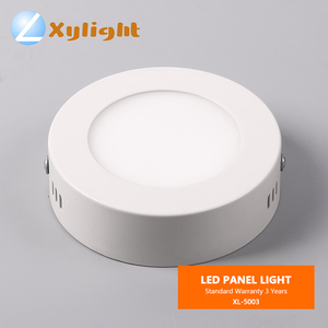 commercial 3w 6w 12 w 18w round indoor office ceiling light surface mounted led panel light lamp