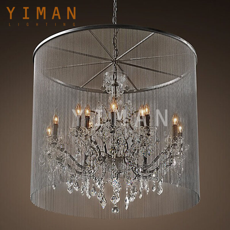 Europe Fashional designed 3 lights special modern chandelier