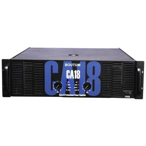 Boutum CA-20 8 ohm stereo 1100W Professional Audio 2 Channel Power Amplifier