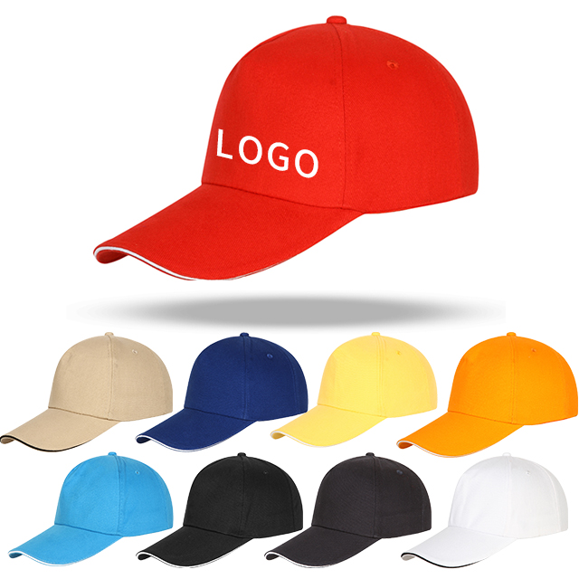 Wholesale high quality new design cap custom hats 100% cotton baseball hat