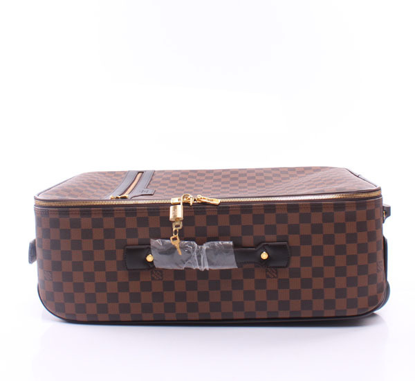 New couch family men Plaid business Trolley Case Suitcase