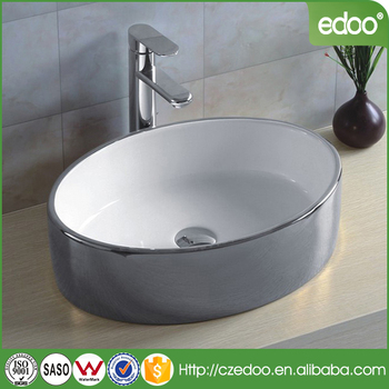 Y157 Square Outside Color Aritstic Basin New Design Bathroom Wash Artistic