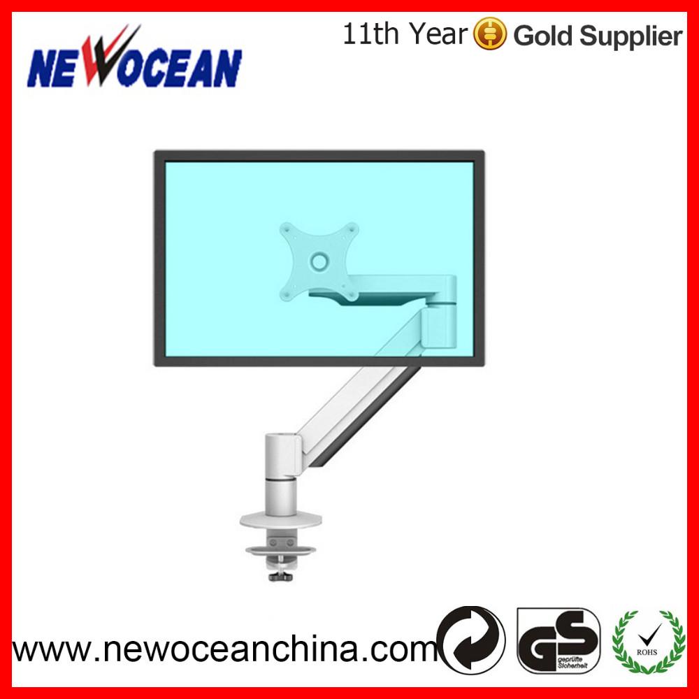 Full Motion Singe Swivel Tilting Arm Lcd Monitor Desk Mount