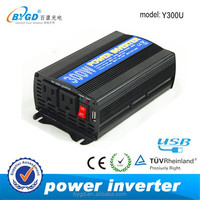 Modified sine wave 300 watt power inverter dc 12v ac 220v