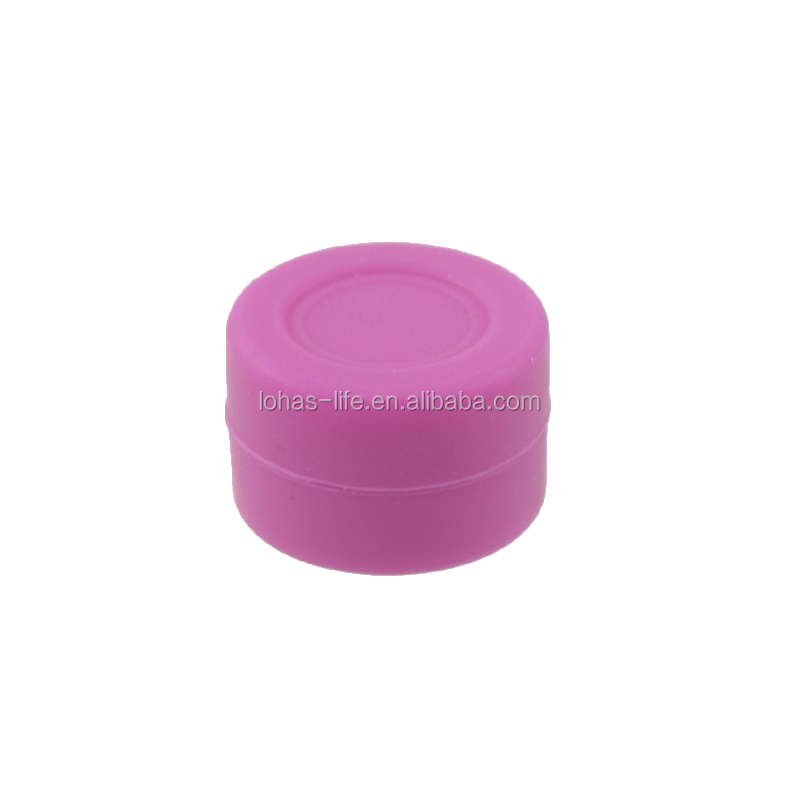 Portable Silicone Container Concentrate Lego Storage Square Silicone Wax Jar