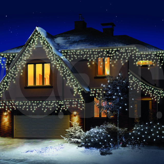 china wholesale christmas outdoor usb led snowing icicle light