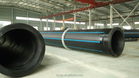 Plumbing Material 12 inches High Density Polyethylene HDPE Pipes for Drainage