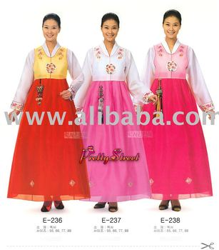 Koreanisches traditionelles Kleid/Hanbok