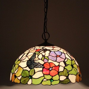Fancy pendent Lamp tiffany style stained glass lamp for wall hanging lamp home decoration wholesale