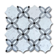 kitchen marble flower designs fish scale mosaics tile