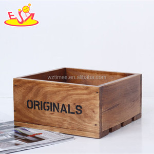 2018 hottest kids wooden box new fashion children wooden box most popular wooden box W08C162