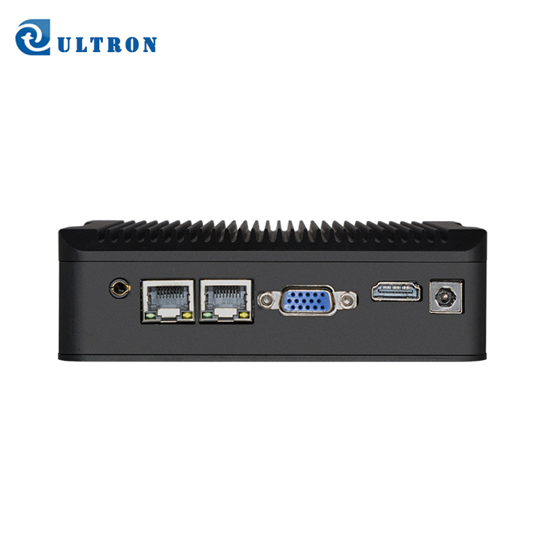 Linux integrado juntas 4G 120G Barebone Industrial Mini PC con USB