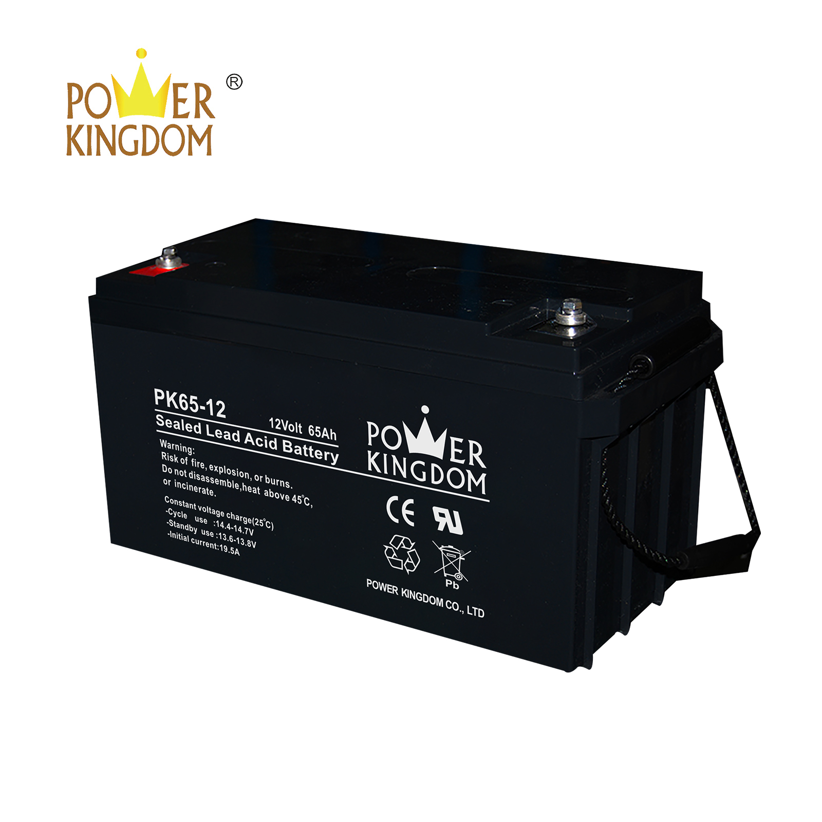 High-quality gel scooter battery for business solar and wind power system
