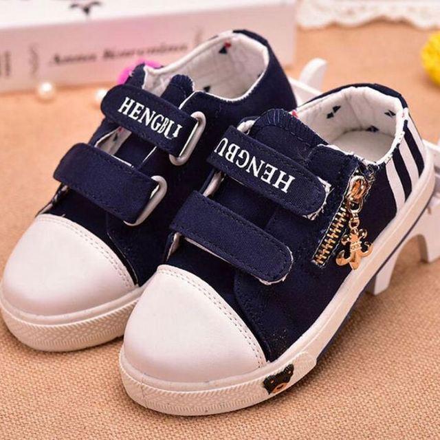 5fd19cb846 autumn canvas shoes children_Yuanwenjun.com