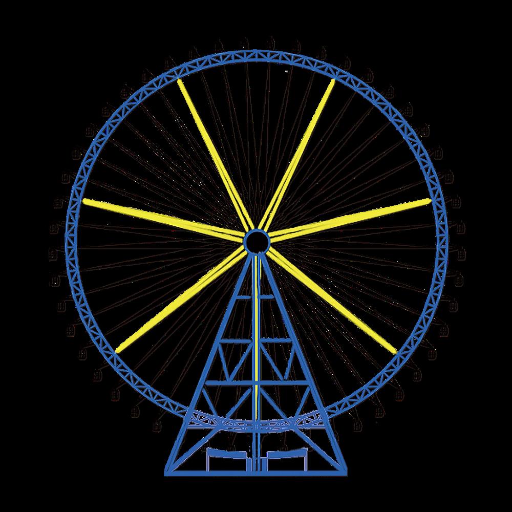 связывания картинка колесо обозрения без фона запеченная