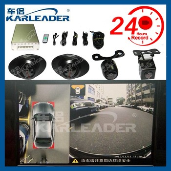 360 Degree All Around Full View Car Visual Security Parking System For Cars Automatic With Sms