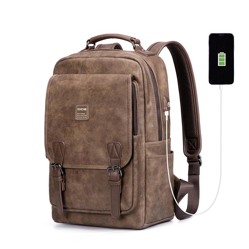 Venta al por mayor mochilas de piel hombre Compre online los