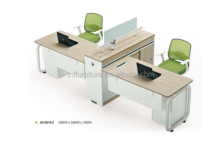 Modern Melamine Board 2 Person Office Workstation (JO 5016 2)