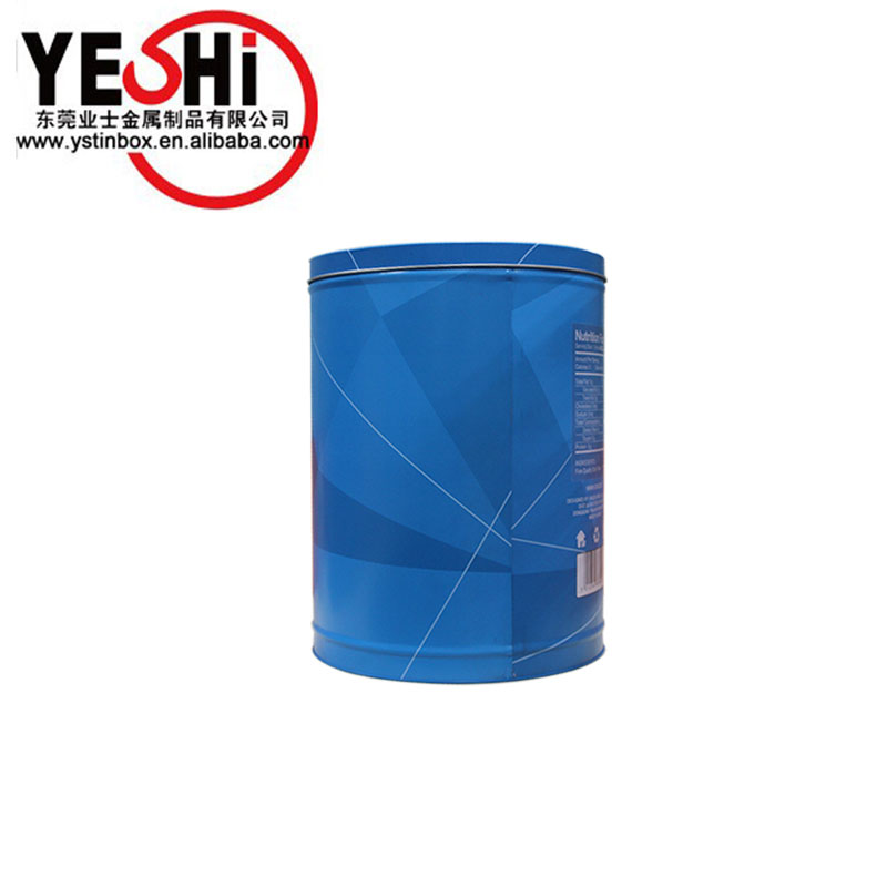 Hot selling large metal tin bucket with lid for clothes