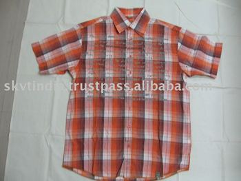 MENS SHIRT/PLAID SHIRTS