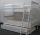 best selling wooden bunk bed with trundle for kids