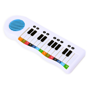 Book with electronic piano