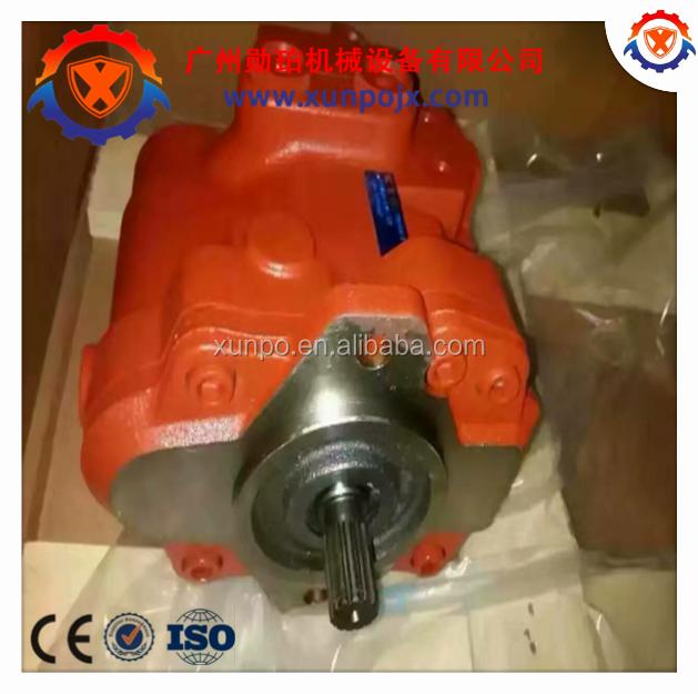 original KYB excavator piston pump PSVD2-17E, Kayaba hydraulic main pump PSVD-26E/PSVE-27E