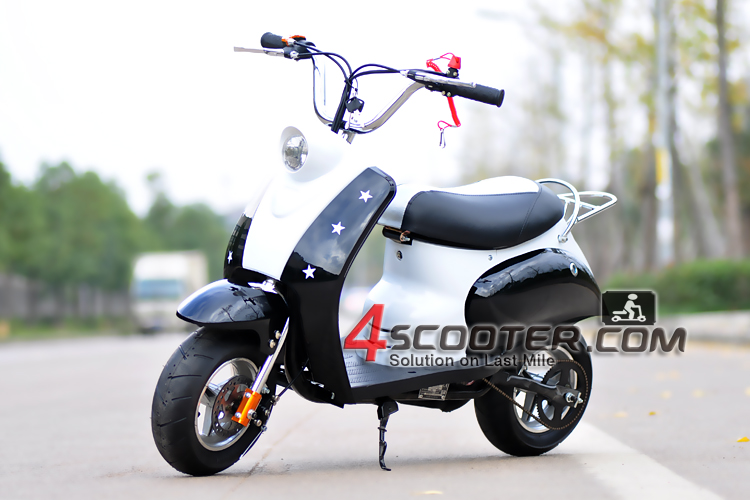 200cc pull starter big wheel gas scooter