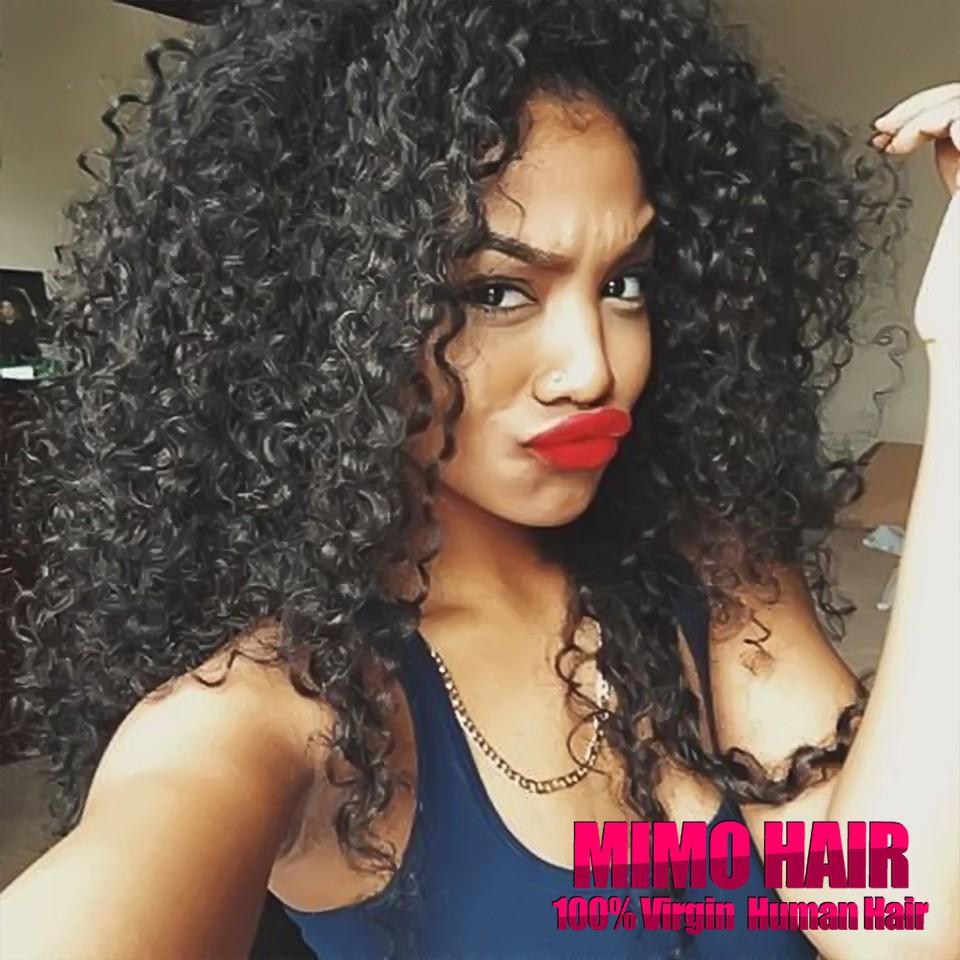 Malaysian curly hair sew in