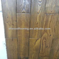 Antique China Pine Solid Wood Flooring for Wallboard