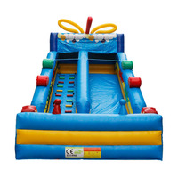 China Large slip n slide Inflatable Bouncer Inflatable Slide For Sale