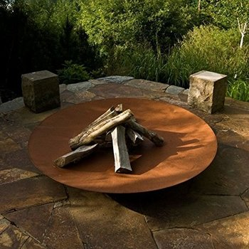 Cast Iron Corten Steel Fire Pits Patio Bowl For Product On Alibaba