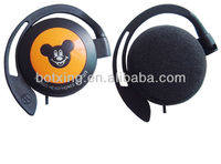Lovely Micky speaker/ear hook earphone for MP3/mobile /computer