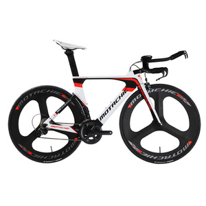 Lightweight 8.7KG T1000 Carbon Fiber TT Bike Complete Bicycle, 4 Bearing Full Carbon Fiber Bike TT Frame