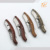 Promotion New coming hand made best olive wood handle Laugiole waiters knife
