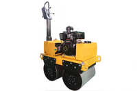 special small vibration type compact road roller