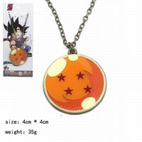 Hot Selling Anime Peripheral Decoration Jewelry Dragon Ball Simple Goku Logo Necklace
